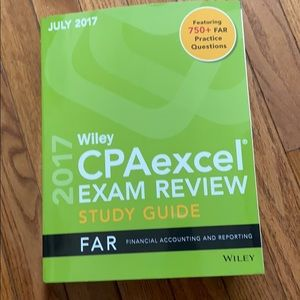 Wiley cpa exam FAR